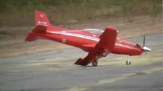 PC-21 electric - Taylorcraft -  Thunderbolt - Bobcat turbine - Lots of modellers