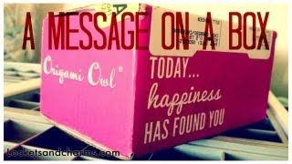 New Shipping For Origami Owl Spring 2013
