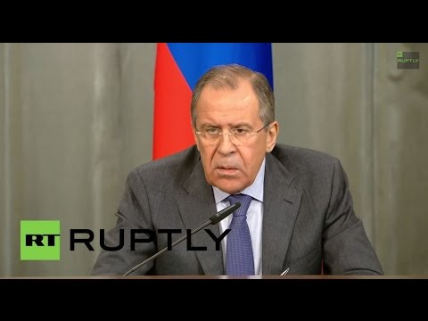 LIVE: Sergei Lavrov and Zambia's FM Kalaba hold joint press conference