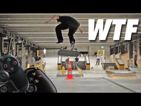 Video Game Skate Trick