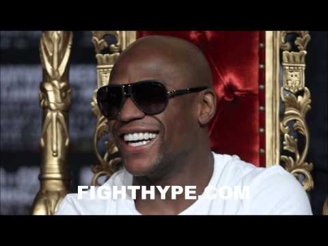 FLOYD MAYWEATHER ON AMIR KHAN AS NEXT FIGHT WHOEVER ITS GONNA BE ITS GONNA BE A SOLID GUY