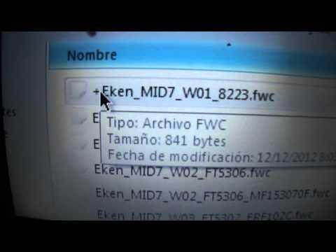 WM8850 COMO SOLUCIONAR EL PROBLEMA DEL TACTIL