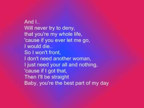 Chris Brown-with You Lyrics video