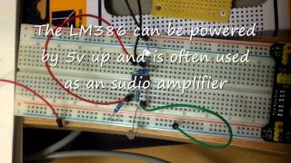 mqdefault Do it yourself dark sensing solar light with the LM386N IC