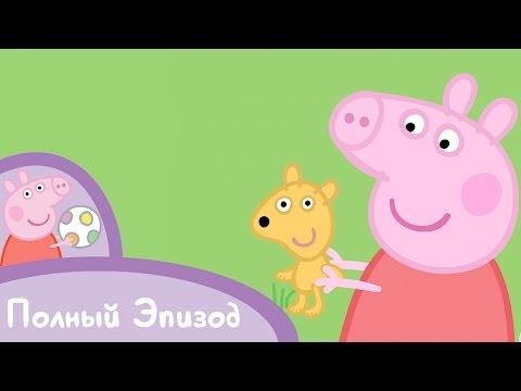 Свинка Пеппа - S02 E04 Прогулка Тедди (Серия целиком)