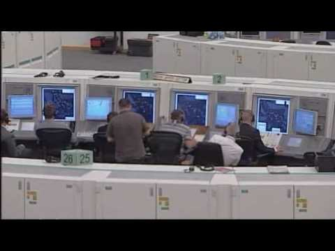 BBC Visits Swanwick Air Traffic Control