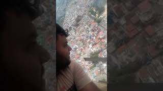 Helicopter ride in Mysore