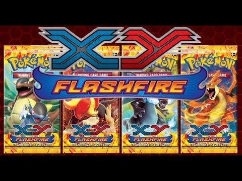 Pokémon TCG XY Flashfire Set Review!