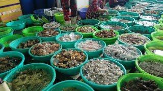 KHUẤY ĐẢO CHỢ HÀNG DƯƠNG | Chợ Hải Sản Cần Giờ
