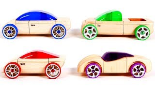 Learn Your Colors with Toy Car Automoblox for Kids | Learning with Yippee Toys