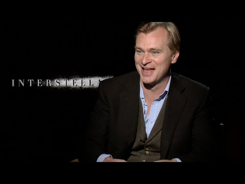INTERSTELLAR interview with Christopher Nolan - The Dark Knight, 70mm,...