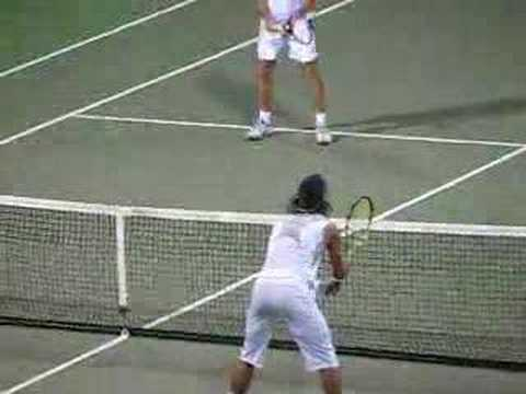 Clip from Chennai Open 2007 held at SDAT Tennis Stadium in Nungambakkam, Chennai, India.