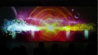 DUNLOP 3D PROJECTION MAPPING [TOKYO AUTO SALON 2013]