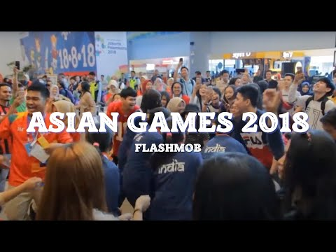 Download Lagu  VIRAL UYYY! FLASHMOB ASIAN GAMES 2018 'Meraih Bintang' Via Vallen - Bandara SMB II PALEMBANG Mp3 Free