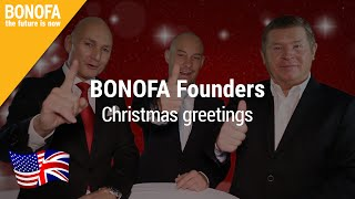 Festive greetings of the BONOFA founders 2015 - Sub