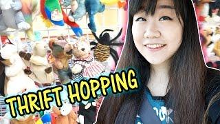 THRIFT HOPPING - Failed - Cute Piggy, Manhwa Books with Disney Toys Haul