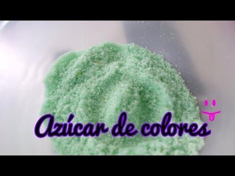 Cómo hacer azúcar de colores, Manualidades Fáciles