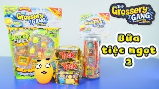 Grossery Gang Series 2 - Bữa tiệc ngọt, Moldy Chips, Rotten Soda, Yuck Bar - ToyStation 66