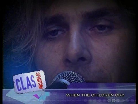 When The Children Cry (acustico)