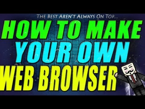 How To Make Your Own Web Browser | VB | 2013 Tutorial!