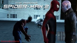 The Amazing Spider-Man 2 Video Game - All Electro Scenes/ Boss Battle PS4