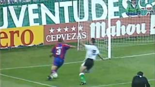 RONALDO FENOMENO - Top 10 GOALS for BARCELONA