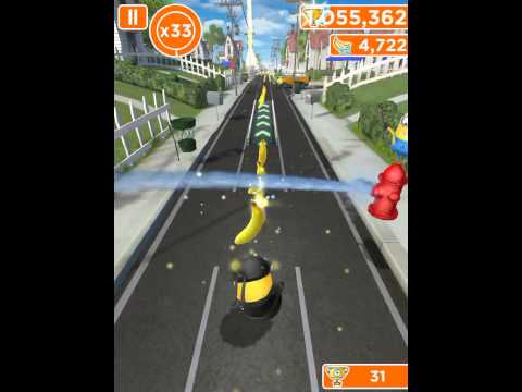 Despicable Me : MINION RUSH (1 MILLION/1000000 POINTS)