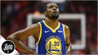 Kevin Durant 'unlikely' to play at the beginning of the 2019 NBA Finals | The Jump