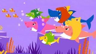 Baby Shark Wearing a Dinosaur Costume | Songs For Children | Nursery Rhymes & Kids Songs