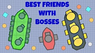 HOW TO BE BEST FRIENDS WITH BOSSES   DOBLONS.IO Funny Video