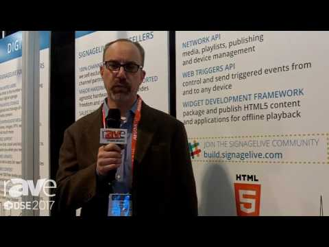 DSE 2017: Signagelive Talks About Cloud Based Software for Digital Signage Content Management