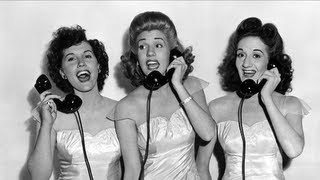 Watch Andrews Sisters Shoo Shoo Baby video