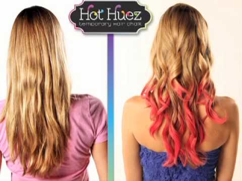 Hot Huez™ hair chalk   Top TV Stuff
