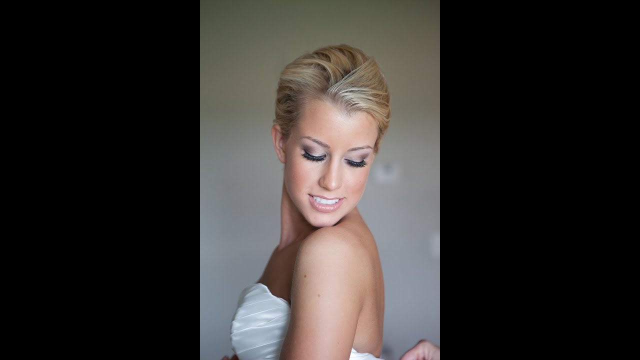 Wedding Makeup Tutorial For Blondes : Glamorous Bridal Makeup from Start to Finish - YouTube