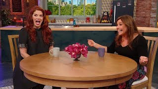 "Eric McCormack Surprises Debra Messing For Her 50th Birthday On The Set of ""Will & Grace"""