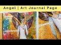 TCW Angel | Art Journal Page