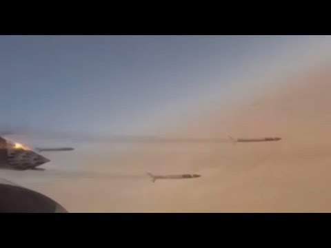 Libya combat footage: Bomb-dropping & on-ground fighting in battle against ISIS near Misrata