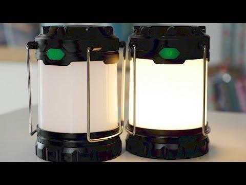 LED Laterne für Camping, Garten & Notfallvorsorge // Prepper Ausrüstung & Camping Gadgets // DEUTSCH