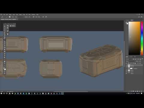 Refining the Scifi Crate design Stream