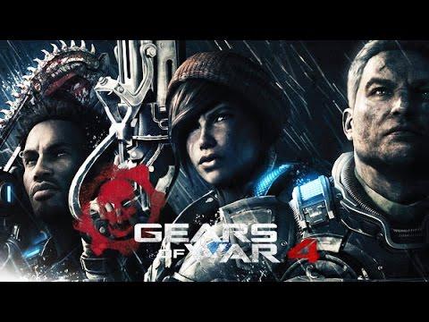 Gears of War 4 All Cutscenes (Game Movie) 1080p HD