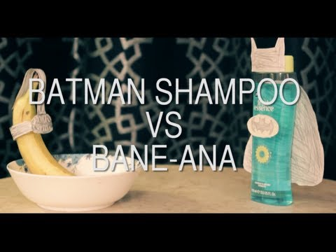 Banana Bane Vs. Batman Shampoo, una pelea no tan épica