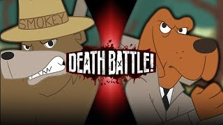 Smokey Bear VS McGruff the Crime Dog | DEATH BATTLE!