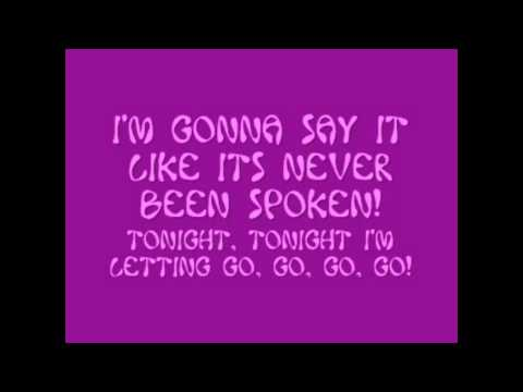 Unbroken- Demi Lovato (on screen lyrics).