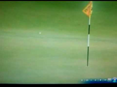 Tiger Woods nearly aces par 4 18th hole at St. Andrews Old Course