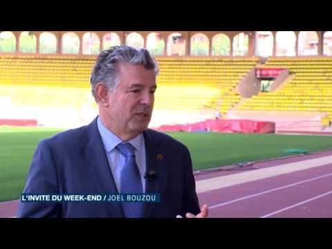 Joël Bouzou présente Peace and Sport dans l'invité du week-end
