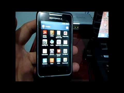 Video Review Motorola XT 303 Moto Smart ME
