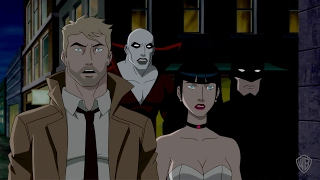 Justice League Dark Clip: Batman vs. Shrouds
