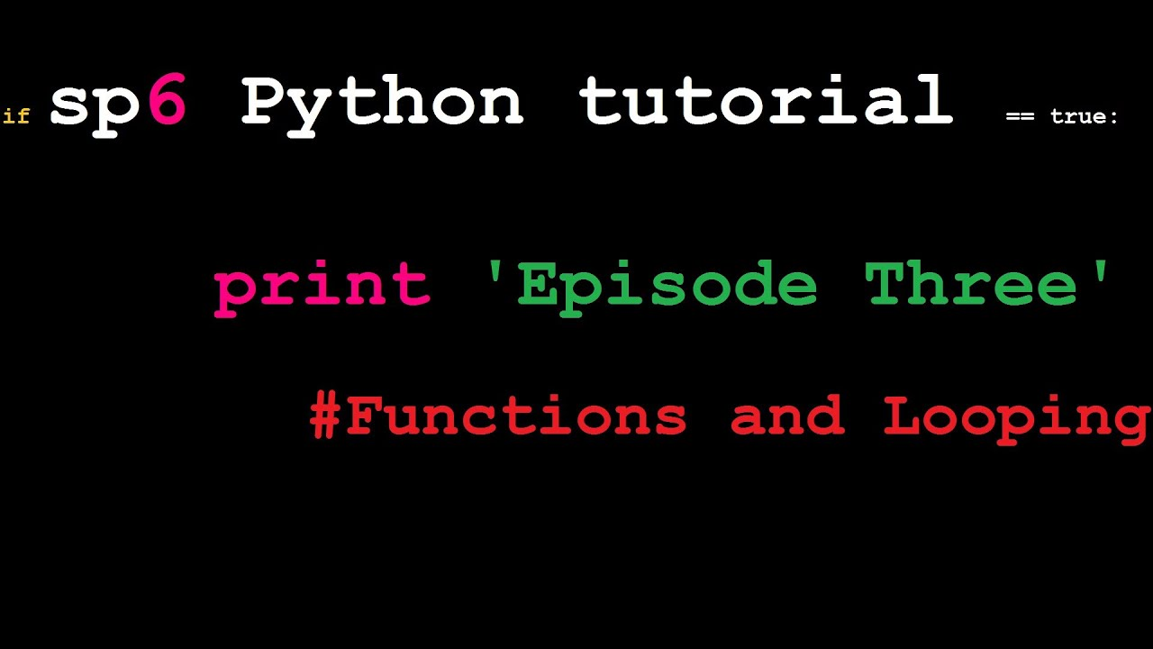things written in python