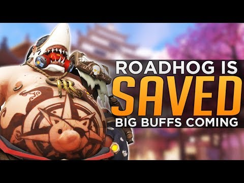 Overwatch: ROADHOG SAVED! - Defensive Buff is INSANE!