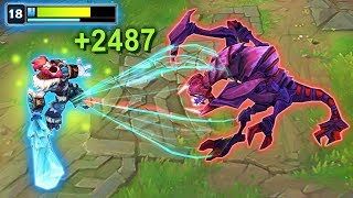 The Power Of INFINITE Sustain - League of Legends